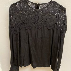 NWT Black Top from Lulus
